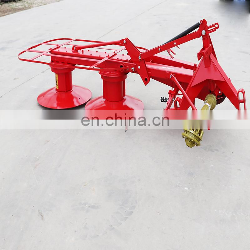 High Efficiency Double Disc Rotary Disc Hay Mower DRM135 Drum Mower with CE Image