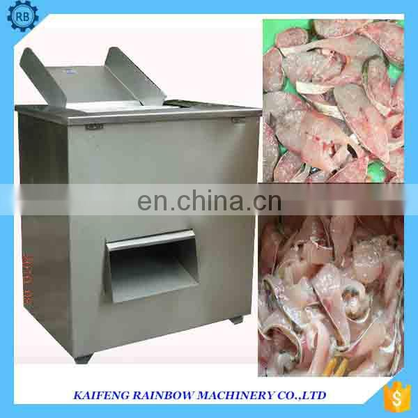 High Efficiency Poultry cutter fish slicer meat slicer cutting machine