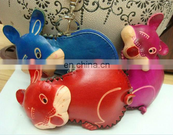 Top selling Genuine leather multi-function leather coin purse