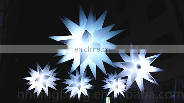 Ningbang hot sale 2018 inflatable stars for party decoration