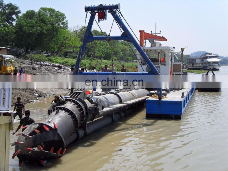 10 inch cutter suction dredge dredger