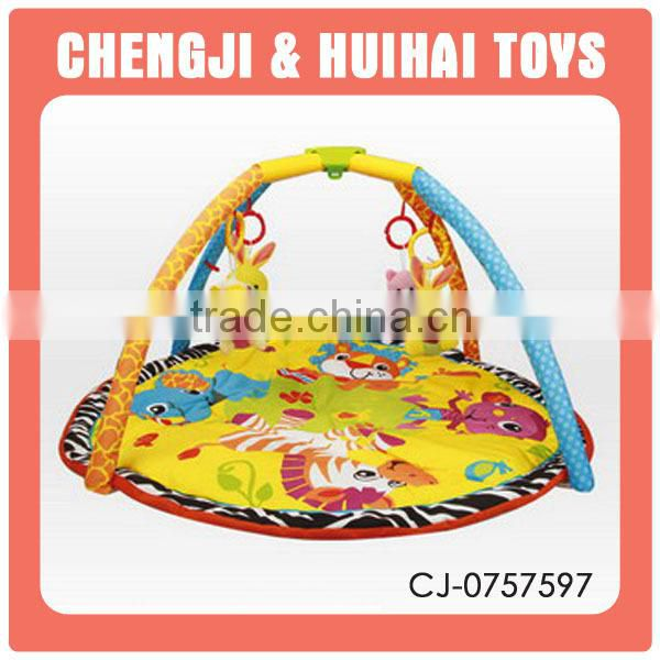 Kids pull line game lighting gharry plastic horse drawn vehicle pull toys carriage