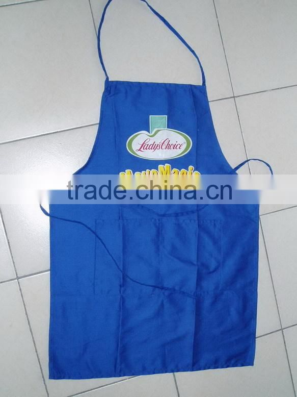 promotional 100% cotton kitchen apron