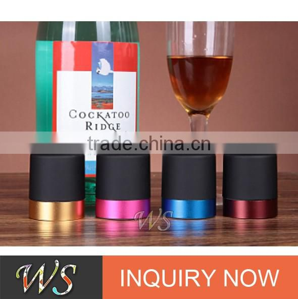 WS-C03 Colored Press champagne bottle stopper for red wine champagne