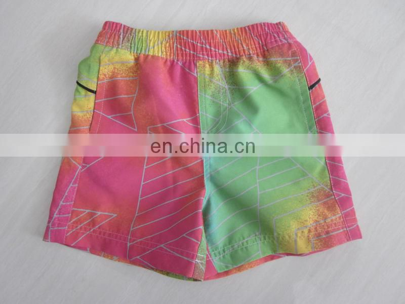 Boy's new sublimation printing beach shorts (Miss Adola)