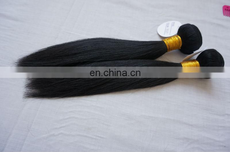 Top Quality Double drawn 100%raw virgin Brazilian remy hair Extension 100%natural virgin indian hair