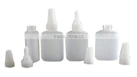 Blow molding and part for glue bottle /pp 20ml plastic glue bottle