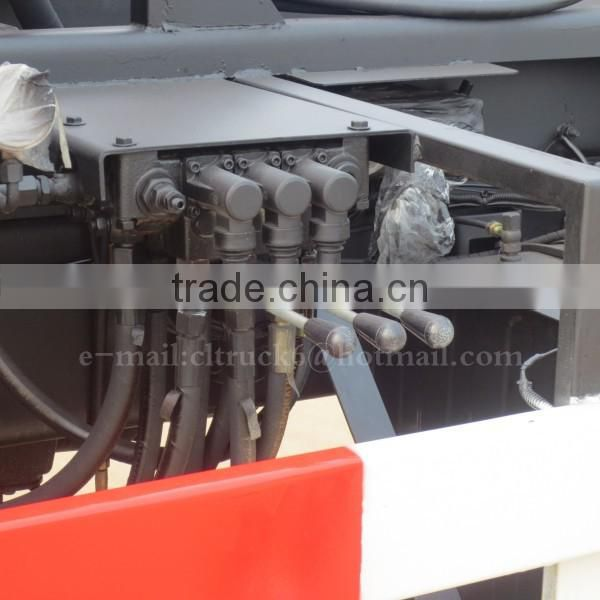 Factory sale 6*4 DONGFENG Hook Arm Trash Truck 16m3