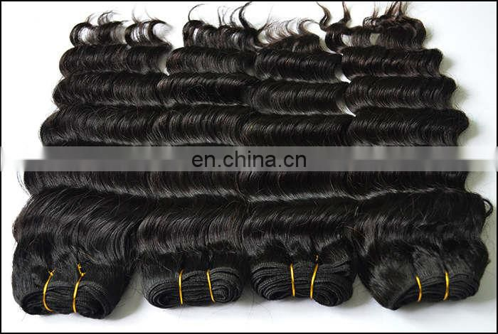 New style Brazilian remy ocean wave weft hair Positive feedback