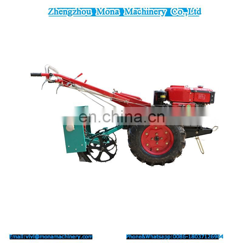 Price Of Agricultural Equipment Farm Machinery 2 Wheel Walking Tractor In India