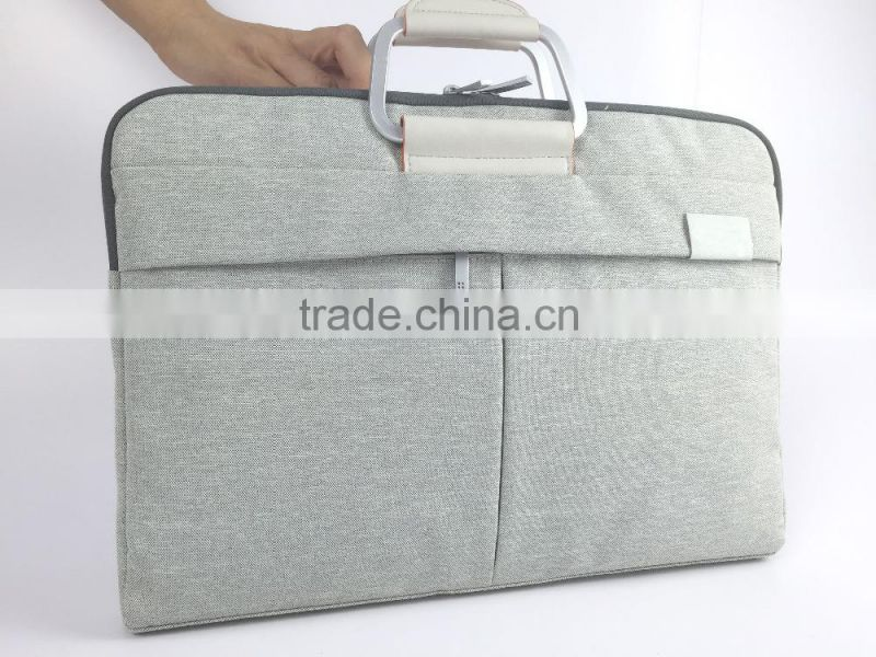 Minimalism portable laptop messenger bag nylon laptop bag