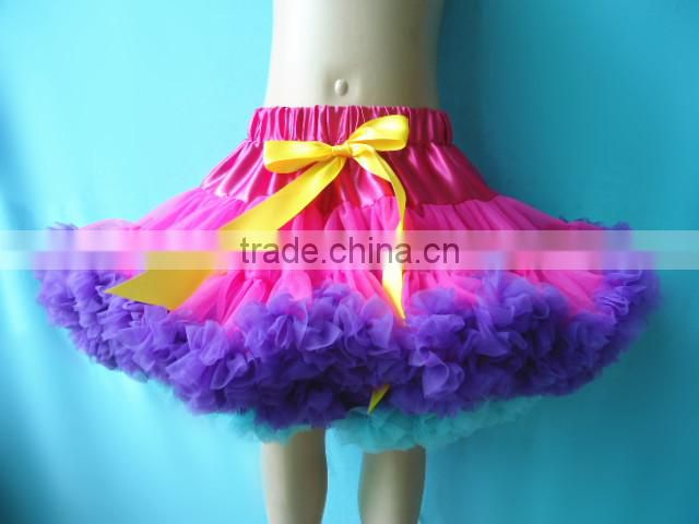 Western party wear dresses performance Costume Style Newest blink professional sequin tulle fabric ballet baby girl tutu skirt