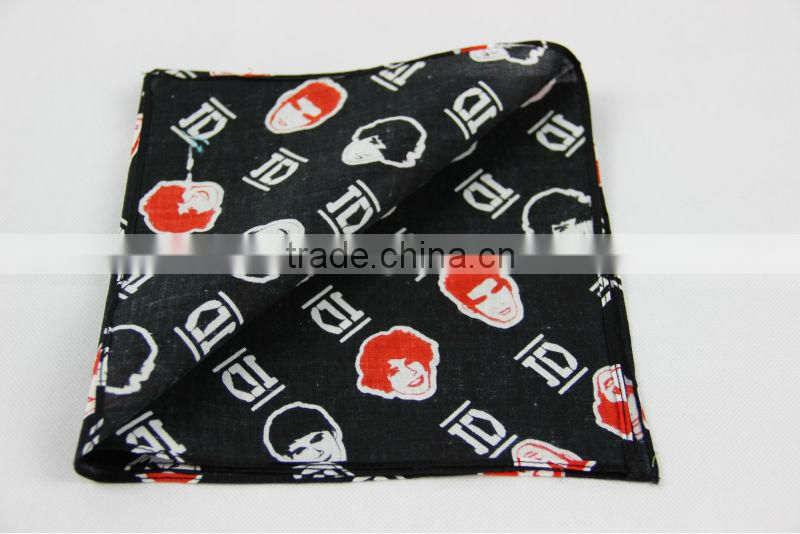 cotton printing men's bandana