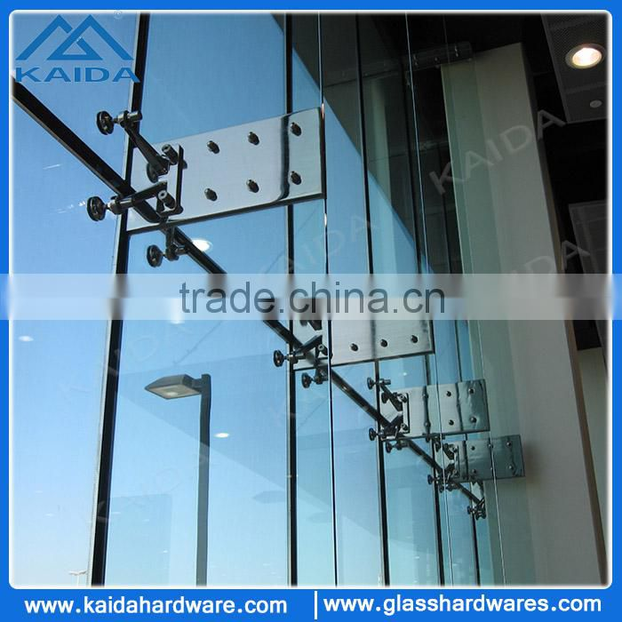 Stainless steel glass fin joint plate bracket of Stainless steel