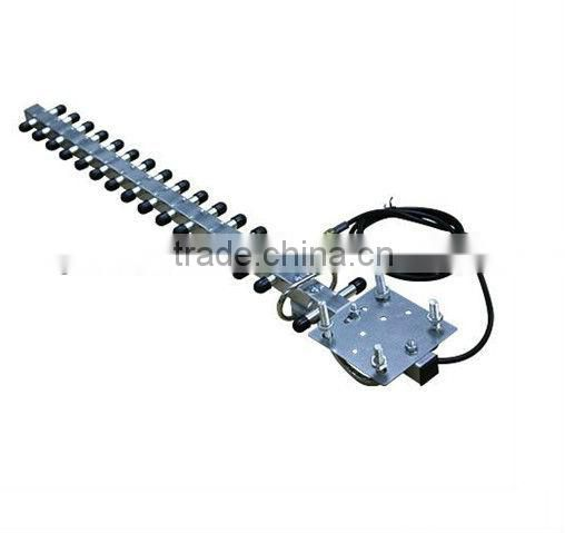 tv remote controlled rotating 16db yagi antenna uhf vhf outdoor tv antenna with booster-J883