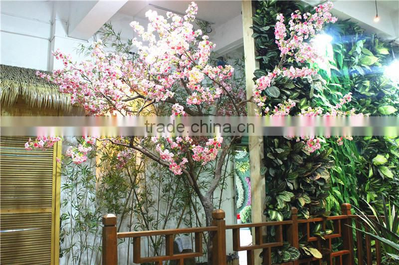 home garden decorative huge indoor plastic Artificial plant 280cm tall Cherry blossom trees Ers10 0931