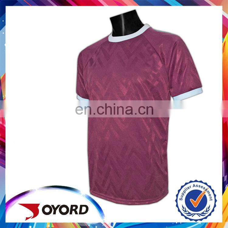 Printed women slim fit low price soccer shirt