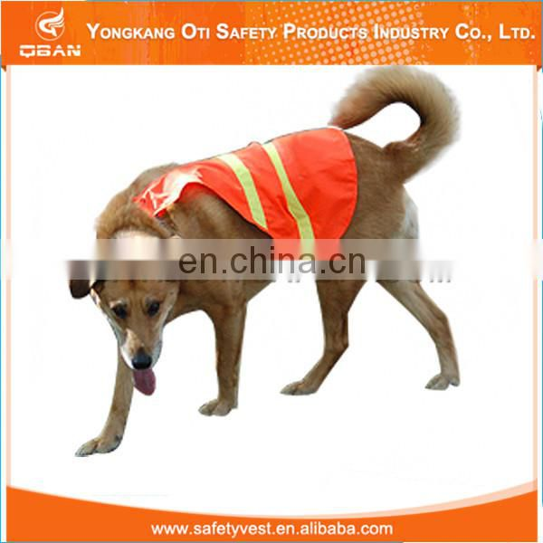 Pet safety vest with reflective type vests