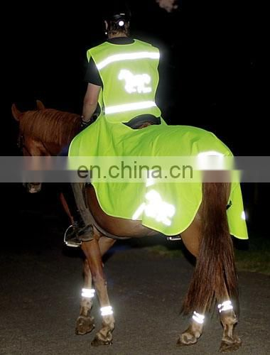 fashion Human-horse pets Hi-vis Reflective Vest Conforms to EN471 Class2/ISEA/ANSI