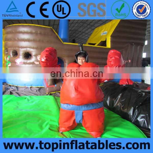 Inflatable Interactive Foam Padded Sumo Suits