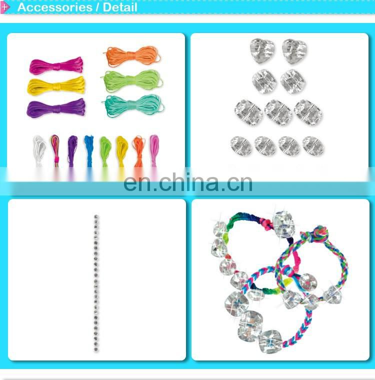 DIY craft Gem Jewelry bracelet kit