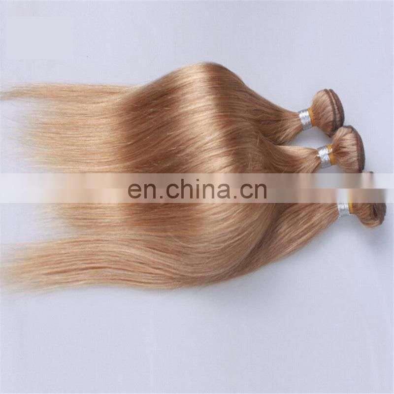 Cheap human hair weave ash blonde no tangle shedding free body wave 100% brazilian hair