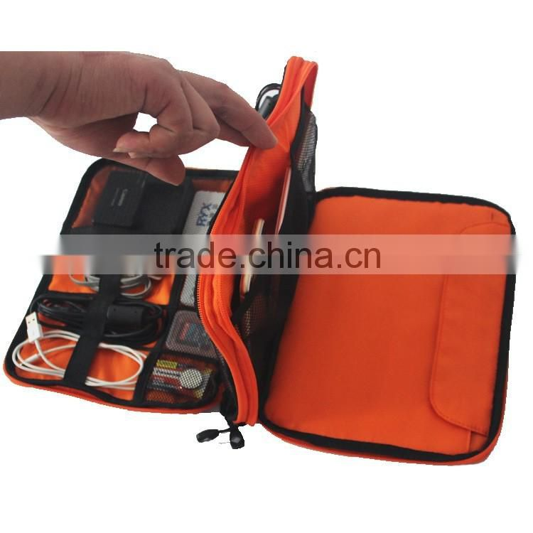 ced5dfa6f2cb Electronic Accessories Organizers Bag for Earphone Cables USB Travel  Digital Bag Organizer ...