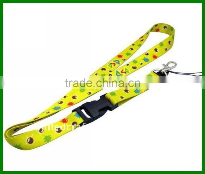 2011 NEW DESIGN POPULAR HOT SELLING Polyester satin lanyard