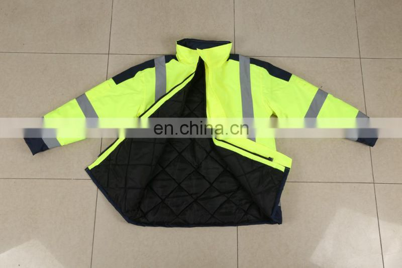 Anti-pilling and durable fashion warm reflective jacket