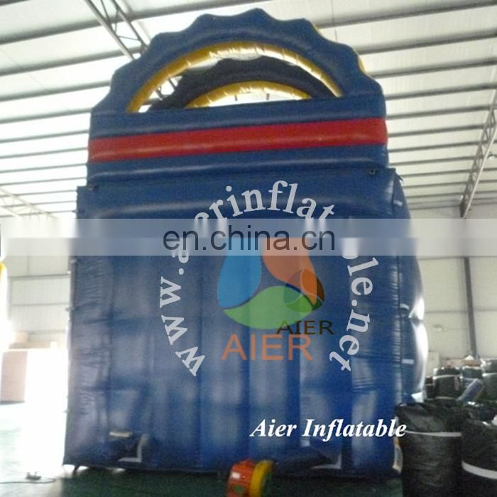 Colorful inflatable slide for sales,inflatable stair slide toys,bouncy castle with slide