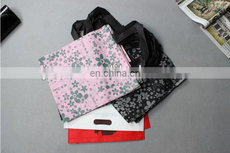 pictures printing non woven shopping bag