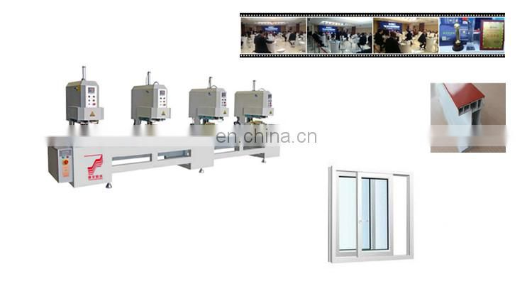 One two three four _ head seamless welding machine casement window egress hinge doors door design Cheap Price