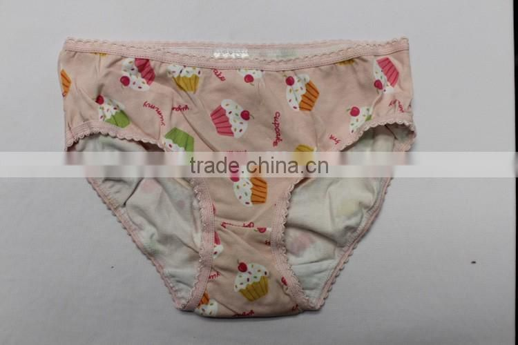Factory Design Available 0-3 Year-old Softexible OEM Knitted Baby Japan Girl Underwear Photo