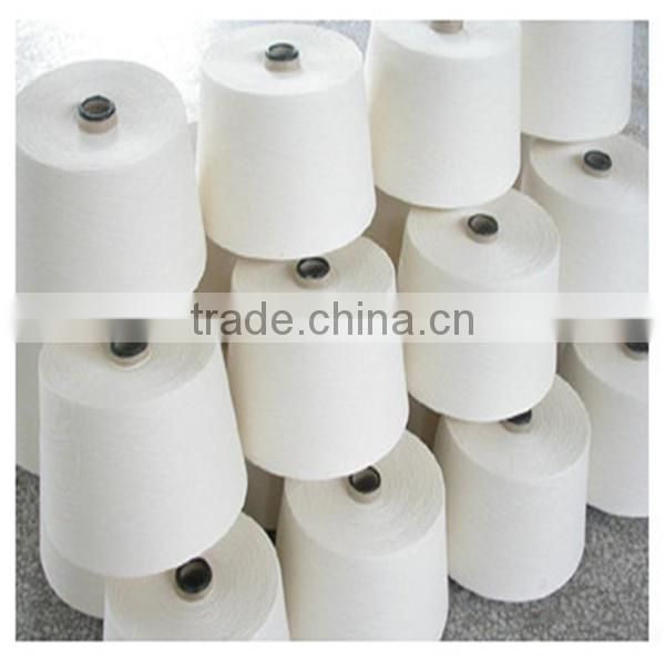 Low Market price combed cotton yarn 30s/2 raw white on cone for weaving