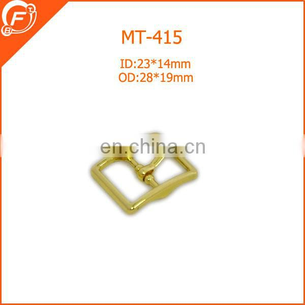 decorative metal gold buckle for bags