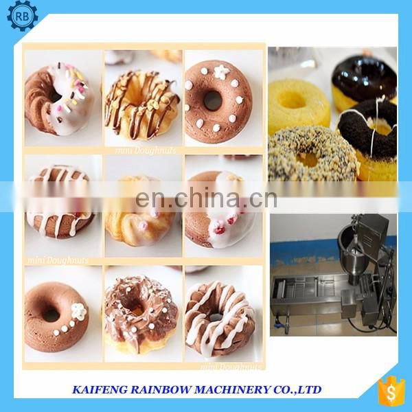 Professional industry Bagel Sweet Bread Rolls Donut making machine donut maker