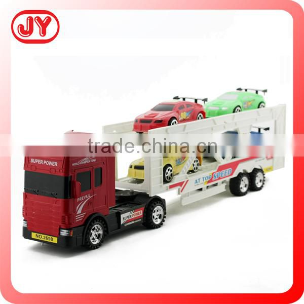 Plastic friction toy van model