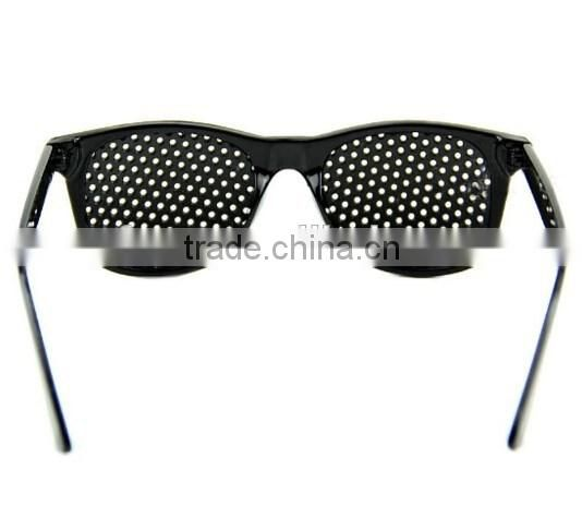 1XBlack Improver Eyesight Pinhole Glasses / Vision Care Pinhole Glasses / Health Care Glasses