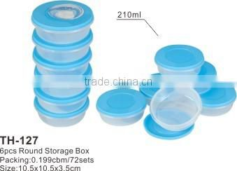 3 pcs Square Plastic Container,wholesale clear container