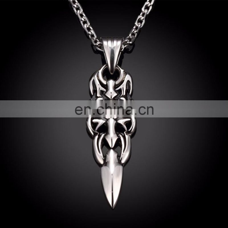 Retro Fashionable Necklace Stainless Steel Men