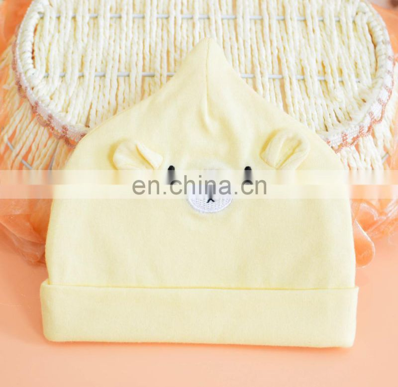 Soft fashion unisex baby caps wholesale price fancy baby hats&caps
