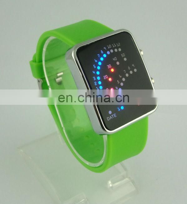 2013 Fashionable Silicon Magnetic Watches