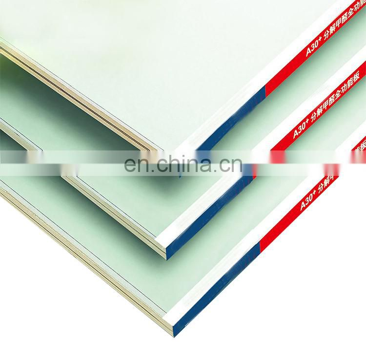 High quality fire rated perforated 6mm 7mm 9mm 12mm 16mm ceiling plasterboard gypsum board