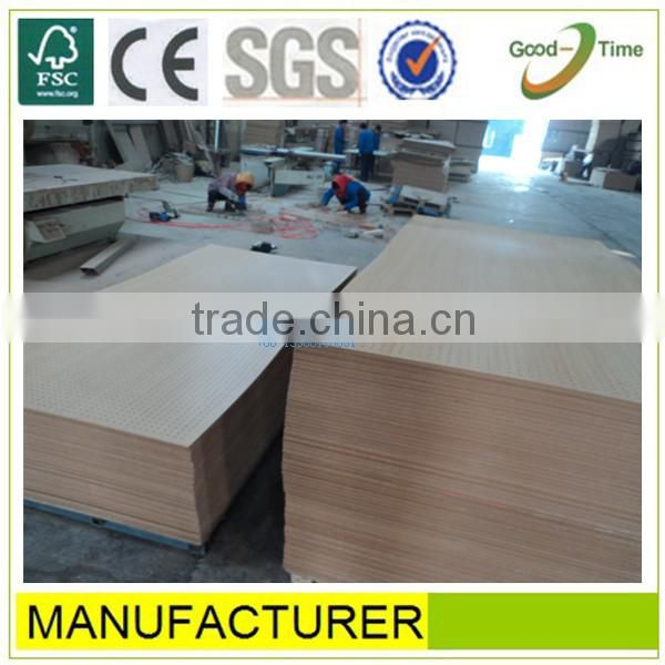 white melamined high quality perforated mineral wool ceiling board