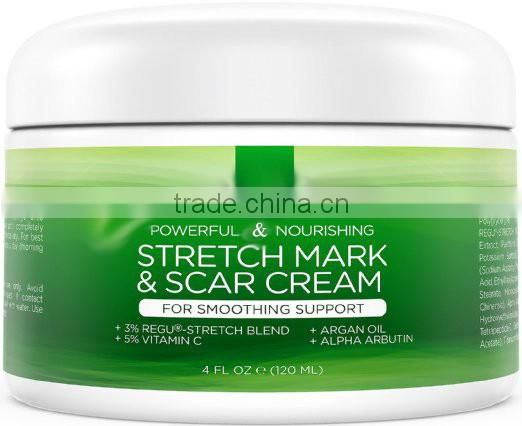 Stretch Mark and Scar Removal and Prevention cream for Men and Women Great for Before and After Pregnancy