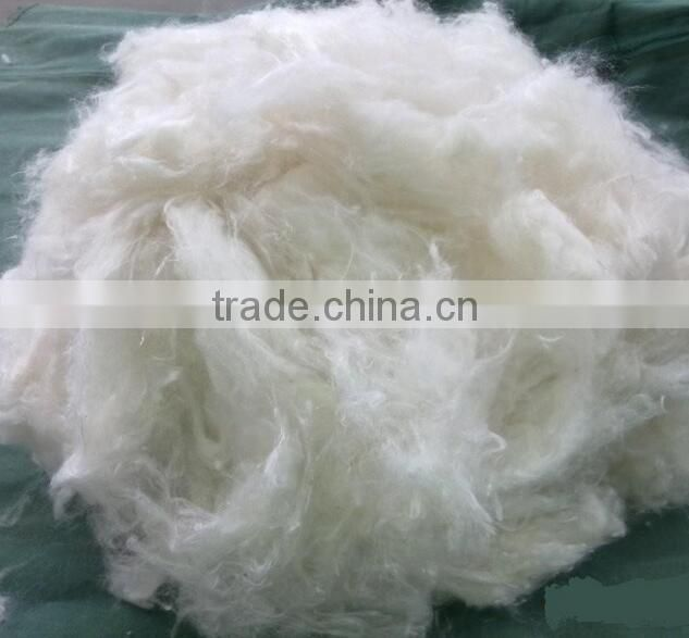 High quality 100% raw white virgin hollow conjugated polyester staple fiber for cotton fabric 1.5D*38MM