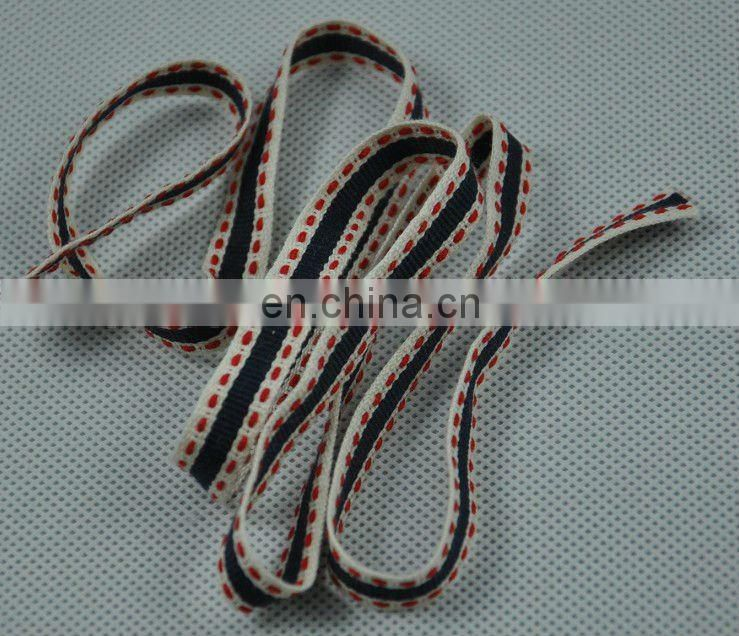 100 cotton webbing, plain weave webbing