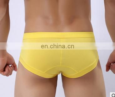 New arrival Solid Briefs Mens Brief Cotton Mens Bikini Underwear Pant For Men Sexy Underwear