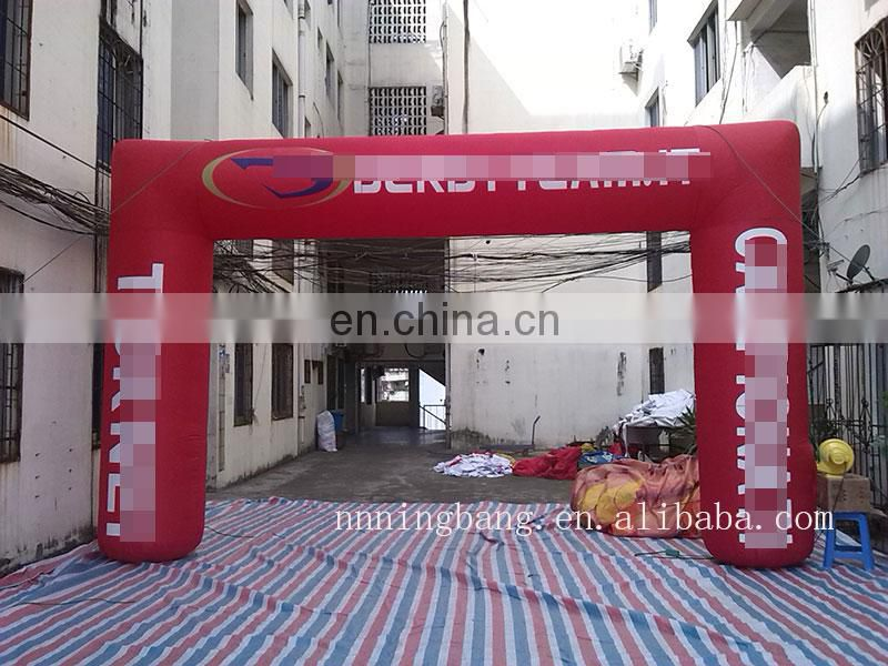 high quality inflatable advertising arch inflatable gate for sale