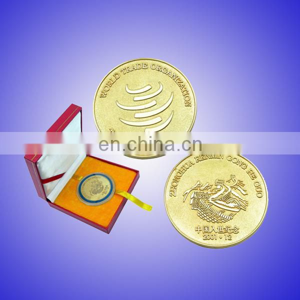 US custom token coin with golden